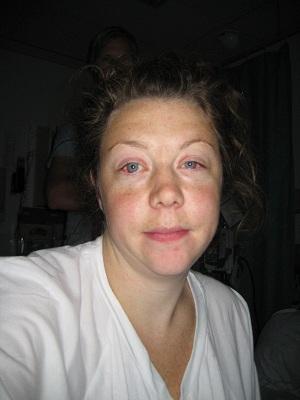 Mitt förlossningsrufs ett par dagar innan första duschen