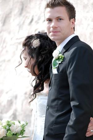 Den stiliga brudgummen