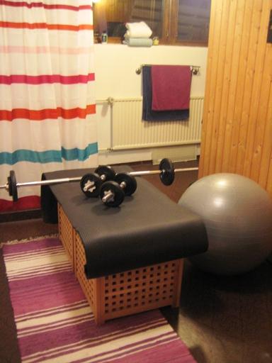 Mitt egna lilla gym!