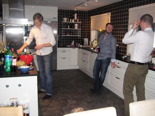 Männen i köket