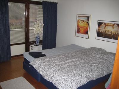 Såhär såg sovrummet ut innan vi flyttade in för tre år sedan.